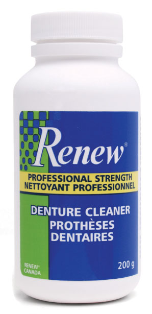 Speaking, opinion, Denture cleaner removes anal stains