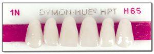 Dymon-Hue Upper Anterior, nue hue, dentsply,anterior, acrylic teeth, justi