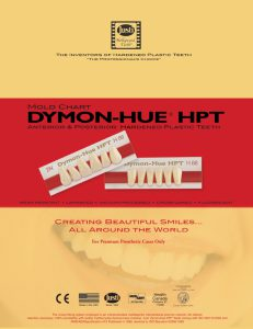 Dymon-Hue Mold Chart, Dymon-Hue Mould Chart, Dymon-Hue teeth chart, Dymon-Hue molds, Dymon-Hue moulds,acrylic teeth mould chart,acrylic teeth mold chart, Dymon-Hue anterior chart, Dymon-Hue posterior chart