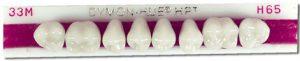 Dymon-Hue Upper Posterior, nue hue, dentsply,anterior, acrylic teeth, justi