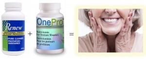 Renew, OnePro, Denture, Practice, Vitamin, Multivitamin, Multi-mineral